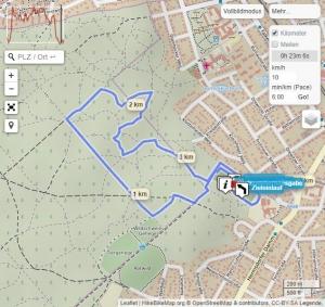 Streckenplan Sägerserie